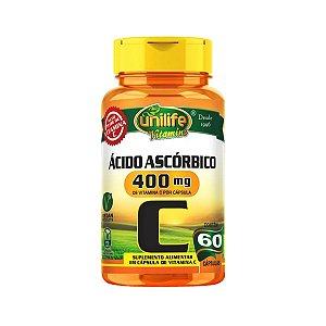 Vitamina C Unilife 60 cápsulas