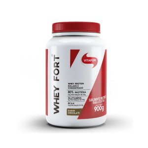Whey Fort Chocolate Vitafor 900g
