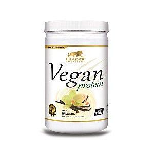 Vegan Protein Baunilha Leader Nutrition 450g