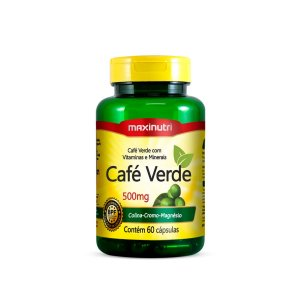 Café Verde Maxinutri 60 cápsulas 500mg