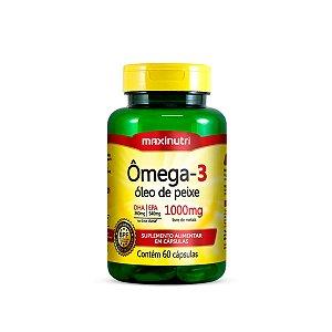 Ômega 3 Óleo de Peixe Maxinutri 60 cápsulas