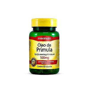 Óleo de Prímula Maxinutri 60 cápsulas 500mg