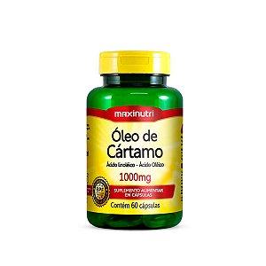 Óleo de Cártamo Maxinutri 60 cápsulas 1g