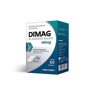 Magnésio Dimalato Maxinutri 60 cápsulas 400mg