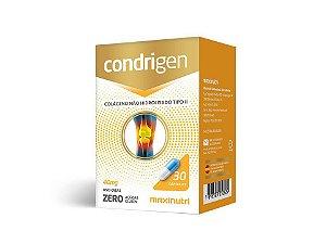 Condrigen Colágeno Tipo II 30 cápsulas - Maxinutri