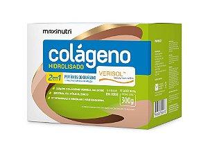 Colágeno Hidrolisado 2 em 1 Verisol Uva Verde 30 Sachês Maxinutri