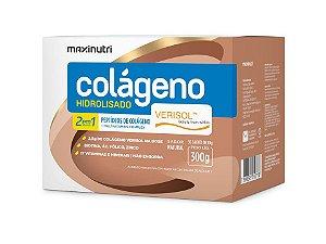 Colágeno Hidrolisado 2 em 1 Verisol Natural 30 Sachês Maxinutri