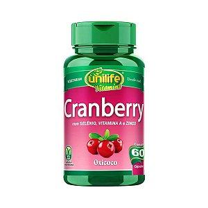 Cranberry Unilife 60 cápsulas 500mg