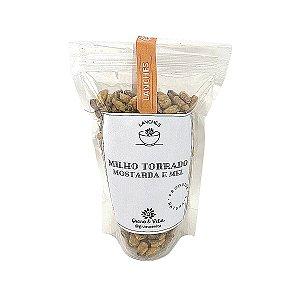 Milho torrado mostarda e mel - Grano & Vita (ziplock) 150g