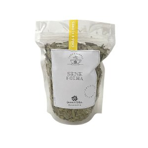 Sene Folhas - Chás e flores Grano & Vita (ziplock) 100g