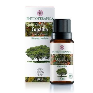Óleo vegetal Copaíba Phytoterapica 20ml