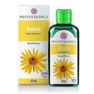 Óleo vegetal Arnica Montana Phytoterapica 60ml