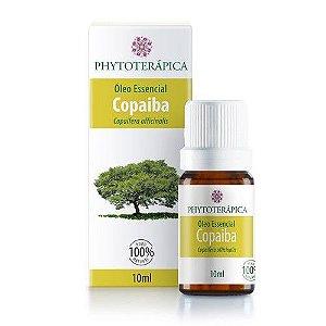Óleo essencial Copaíba destilada Phytoterapica 10ml