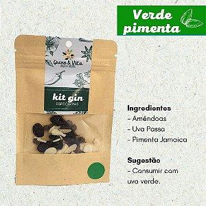 Kit Especiarias Gin Tônica Sabor Verde Pimenta Grano & Vita