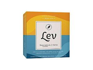 Chá LEV Detox com cafeína + K'alma 60 sachês