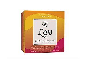 Chá LEV Detox com cafeína + Detox sem cafeína 60 sachês