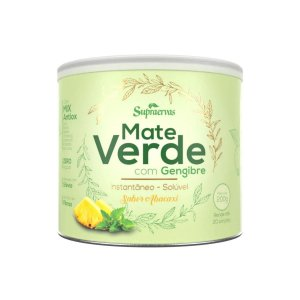 Chá Verde Gengibre Abacaxi com Hortelã Supraervas 200g