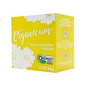 Chá de Camomila Orgânico 10 sachês x 10g Organicum