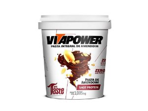 Pasta de amendoim Shot Protein 1kg Vitapower