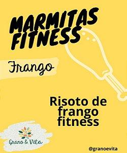 Risoto de frango fitness - Marmita Fitness Grano & Vita