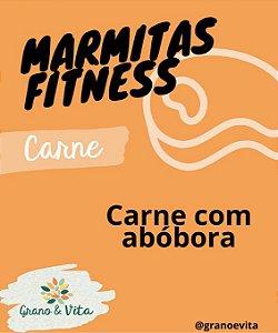 Carne com abóbora - Marmita Fitness Grano & Vita