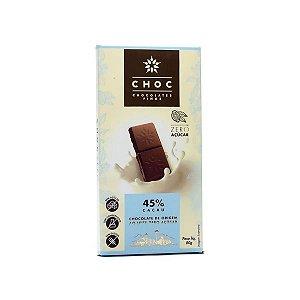 Chocolate ao Leite Cacau 45% Choc