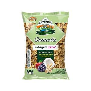 Granola Integral com Frutas Zero Biosoft 1kg