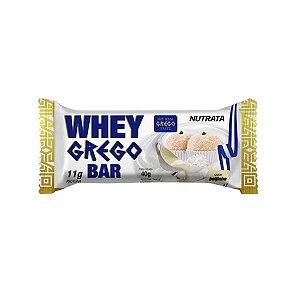 Whey Grego Bar Beijinho Nutrata