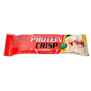 Protein Crisp Bar Ninho com Creme de Avelã Integral Médica
