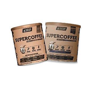Kit 2x SuperCoffee Caffeine Army 220g
