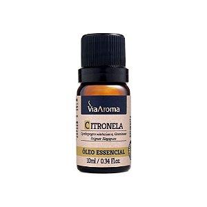 Óleo essencial Citronela Via Aroma 10ml