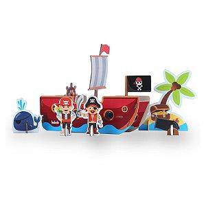 Quebra-cabeça 3D: Piratas (4 anos+)