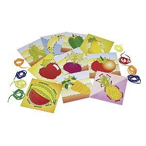 Alinhavos Frutas e Legumes (4 anos+)