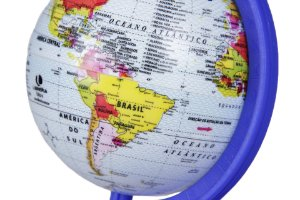Globo Mapa Mundi Mini Baby