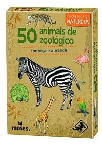 Board Game 50 Animais do Zoológico (8 anos+)
