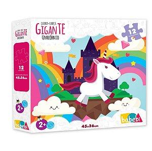 Quebra-cabeça Gigante: Unicórnio (2 anos+)