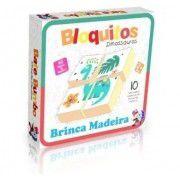 Bloquitos Dinossauros: Brinca Madeira (2 anos+)