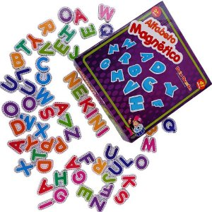 Alfabeto Magnético (3 anos+)