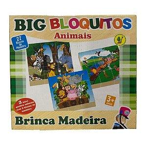 Quebra-cabeça: Big Bloquitos Animais (3 anos+)