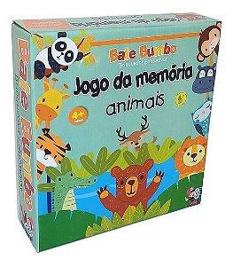 Jogo da Memória Animais (4 anos+)