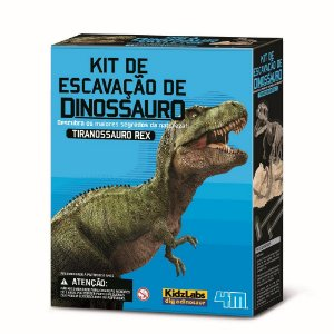 Kit de Escavação de Dinossauro :Tiranossauro Rex (8 anos+)