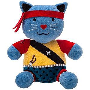 Gato de Pelúcia Capitão Mimo