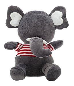 Bicho de Pelúcia Amiguinhos da Floresta Elefante