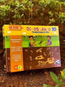 Dinossauro 3D :Tiranossauro Rex (5 anos+)