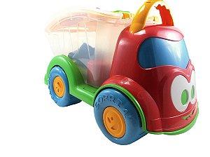Caminhão Dino Sabidinho com Encaixes