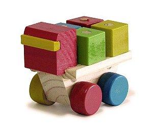 Caminhãozinho com Cubos