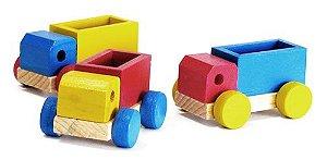 Conjunto de Mini Caminhões (2 anos+)