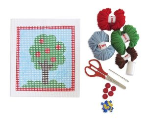 Bordado Árvore - Kit Colagem