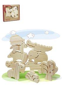 Animais da Selva Pachu Brinquedo Waldorf