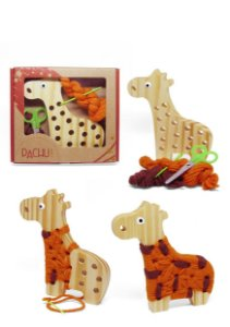 Alinhavo Girafa Filo
